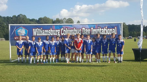 2005 ASA Rampage 2018 Williamsburg Columbus Day Invitational Champions